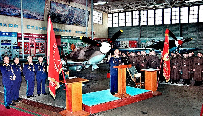 Проведение уроков мужества – одна из традиций музея ещё с советских времён.