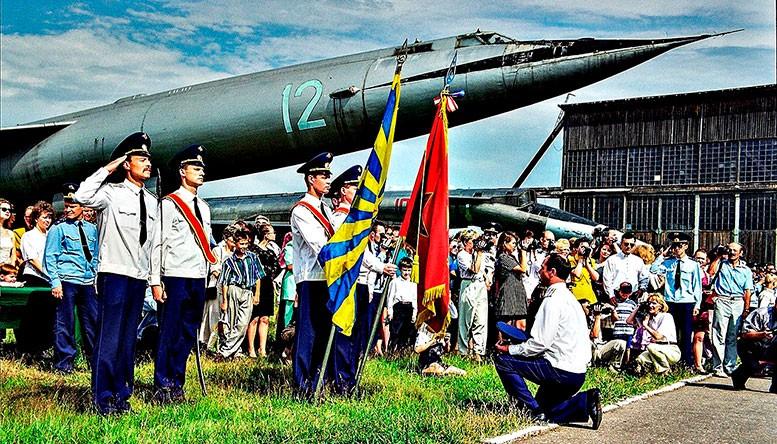 Относительно недавно в музее торжественно проходили выпуски офицеров из монинской Военно-воздушной академии.