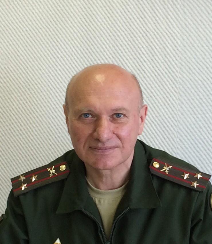 Цобехия Габриэль Шалвович. Полковник,кандидат исторических наук, доцент.