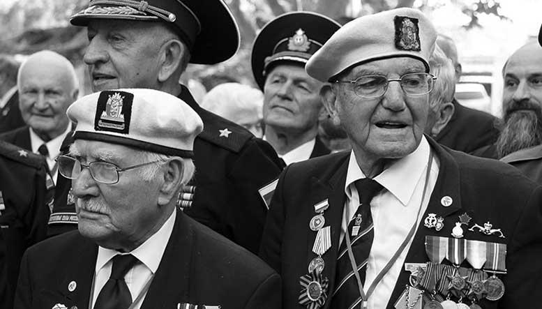 Британские ветераны «Арктических конвоев» в Севастополе