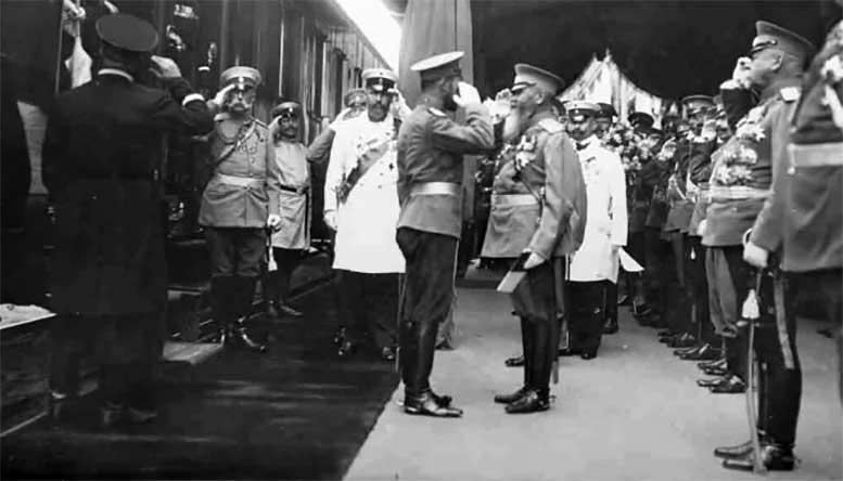 П. А. Столыпин - на прибытии Их Величеств в Киев, 29 августа 1911 года