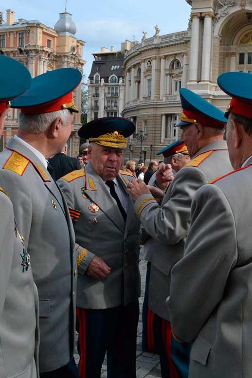 Ветераны. Одесса до антигосударственного переворота в Киеве.