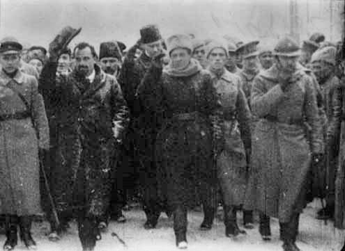 Правительство Директории, на переднем плане Симон Петлюра и Владимир Винниченко, начало 1919 года