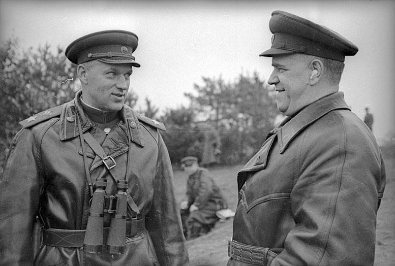 К.К.Рокоссовский и Г.К.Жуков