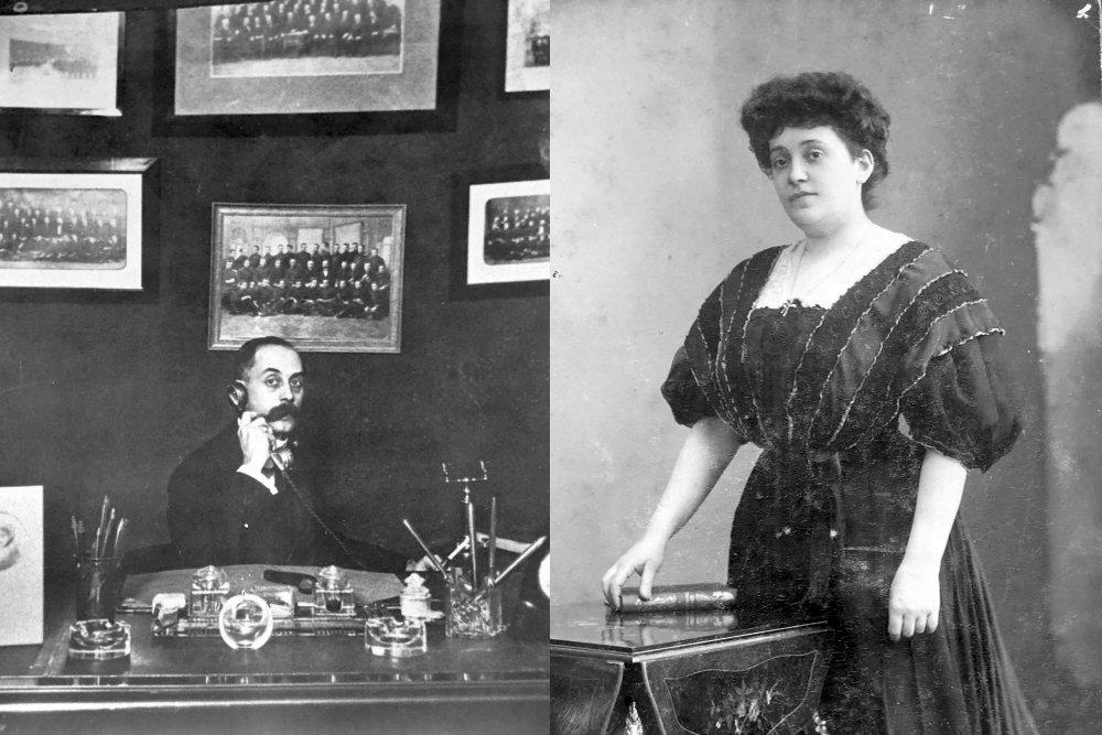 Его отец Адам Викторович и мать Эмилия Петровна Коруани.