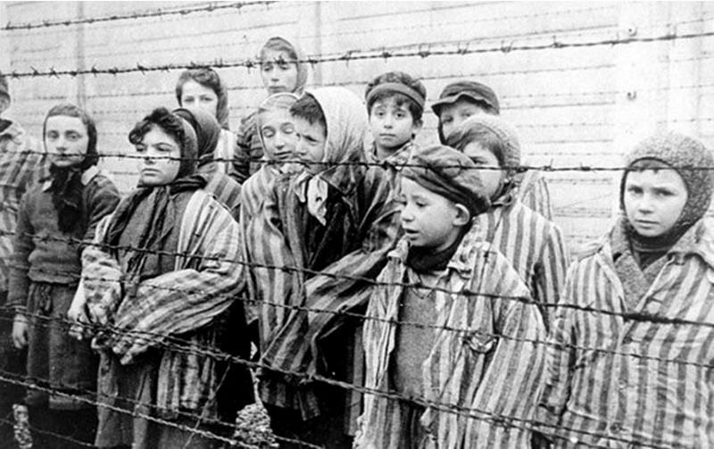 Дети-узники немецких концлагерей.