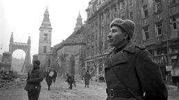 Будапешт, Венгрия. Февраль 1945 год.