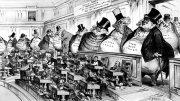 Хозяева конгресса. Американская карикатура.