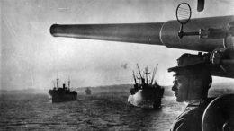 Перевозка десантных войск на Сахалин