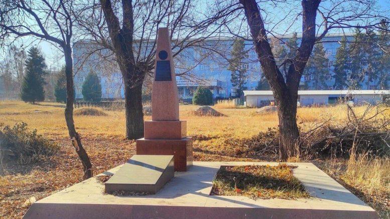Могила ветерана Великой Отечественной войны Алханбека Малькеева