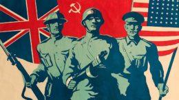 Создание антигитлеровской коалиции во главе с Советским Союзом.