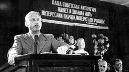 24 декабря 2001-го года исполнилось сто лет со дня рождения Александра Александровича Фадеева.