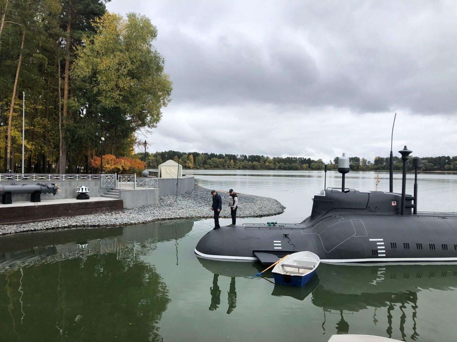 Диверсионная подводная лодка проекта 865 «Пиранья»