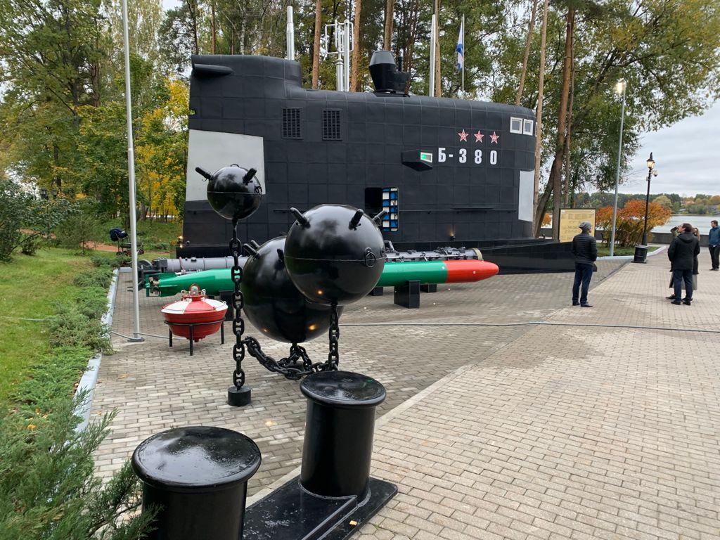 Рубка дизельной подводной лодки